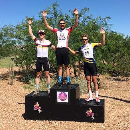 ASU Poly collegiate podium