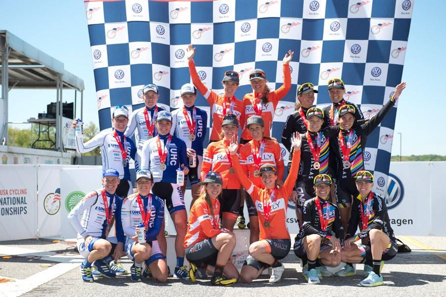 Rally Cycling TTT 3