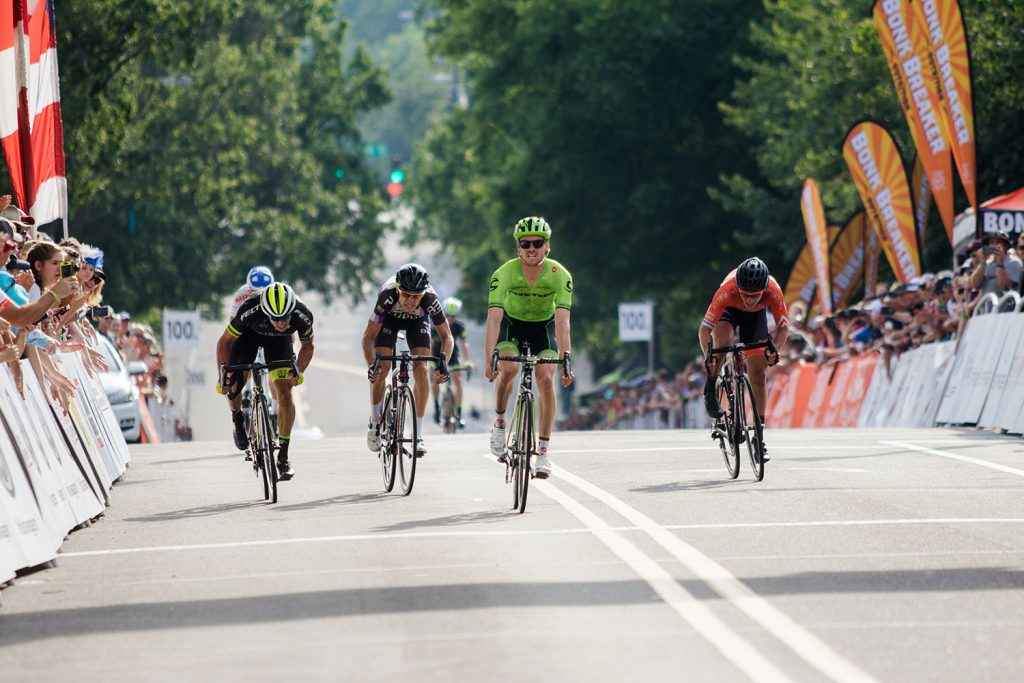 Chad Beyer finished 4th at USPro - photo by Les Morales