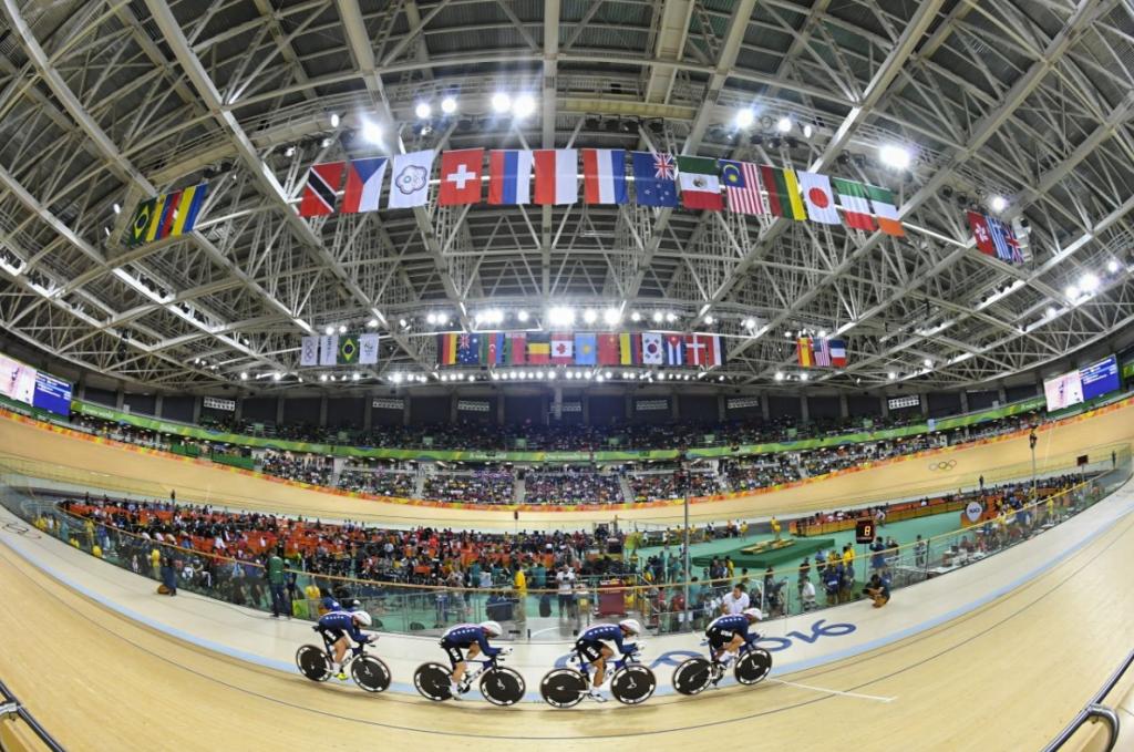 Rio velodrome Team USA